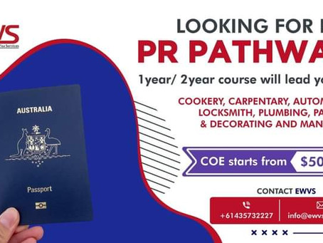 PERMANENT RESIDENCY PATHWAYS AVAILABLE