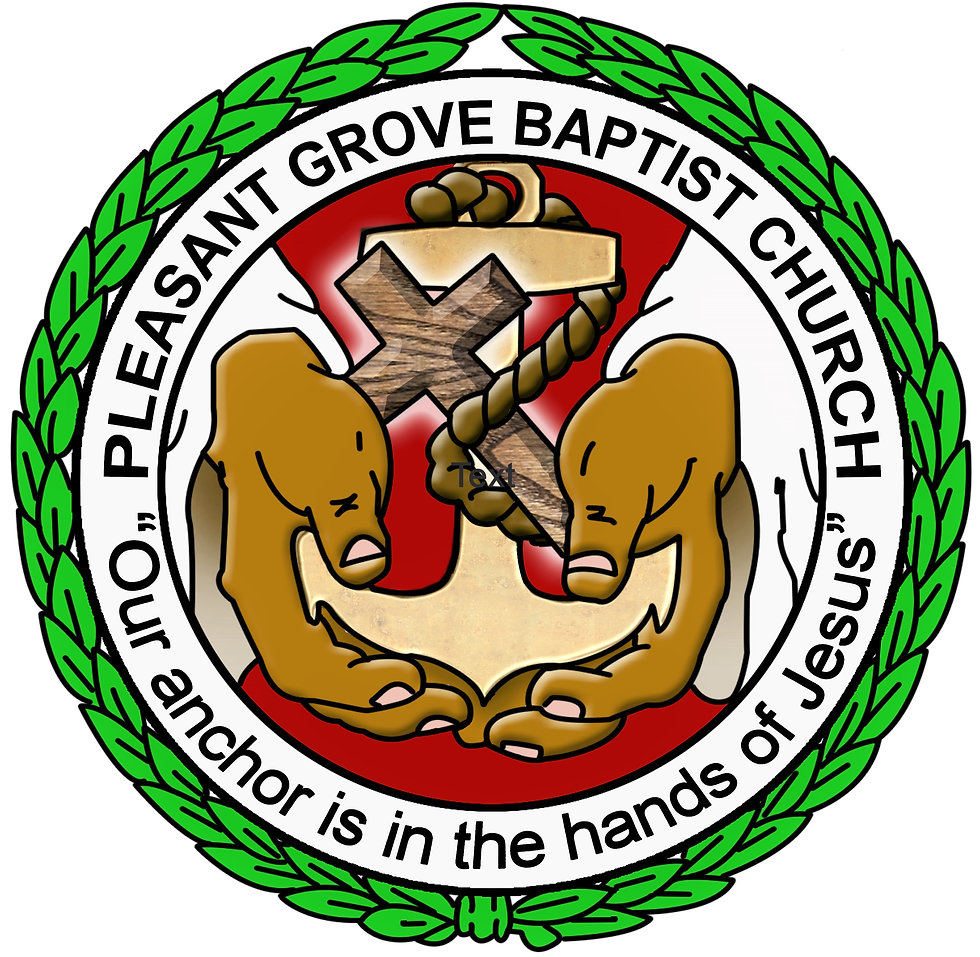 Pleasant Grove Baptist Church Logo Round
