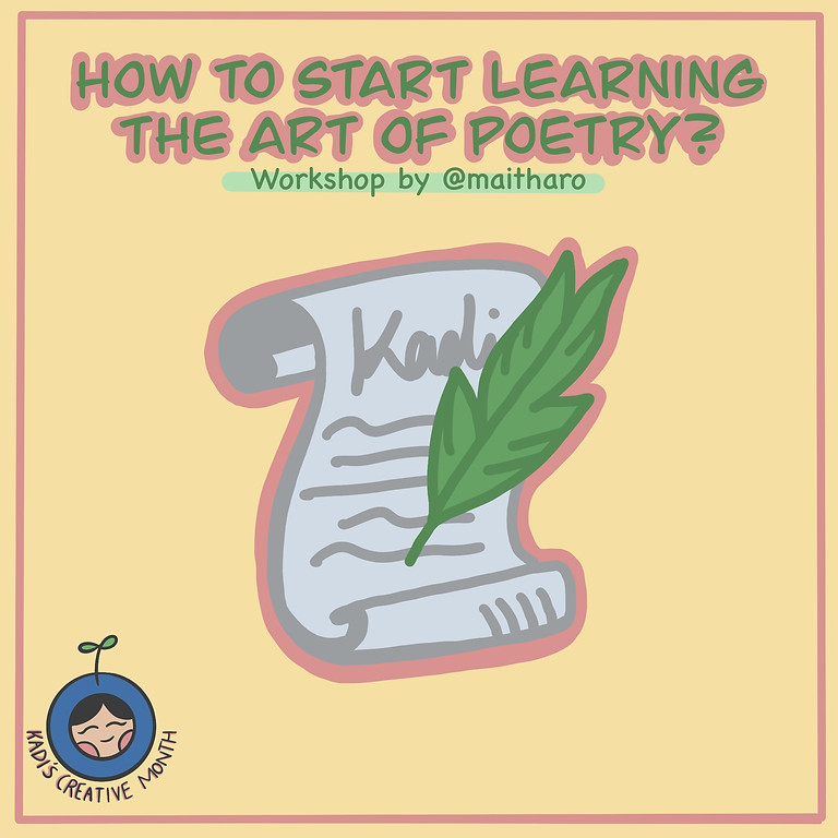How To Start Learning The Art of Poetry Workshop