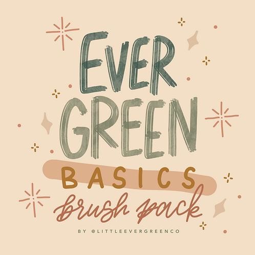 Evergreen Basics Brush Pack