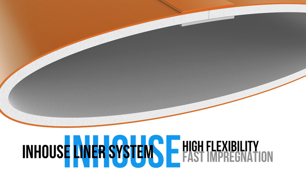 inhouse liner, flexible sewer liners