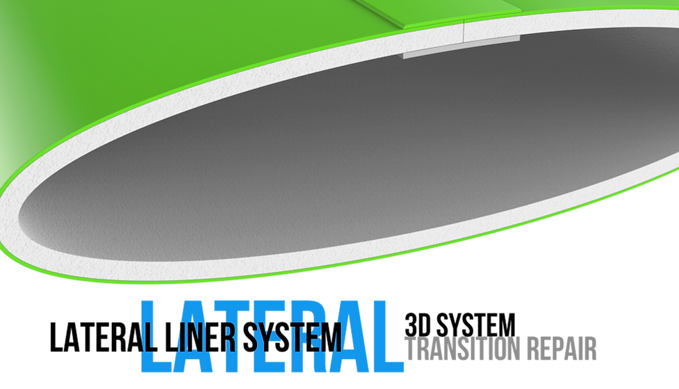 Very flexible Lateral liner with bends up to 90 degrees