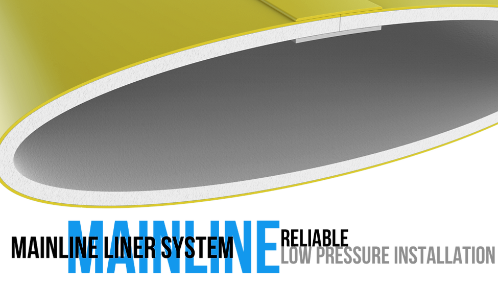 Mainline liners suitable for high pressure pipes