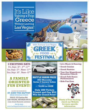 Save the Date for Las Vegas' Greek Food Fest
