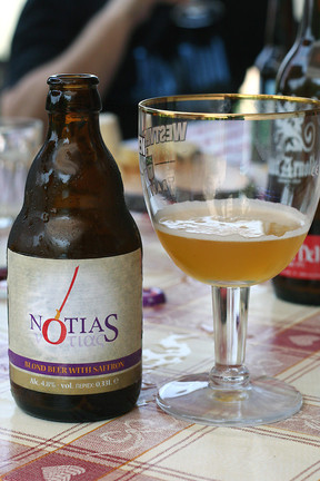 Notias Saffron Beer