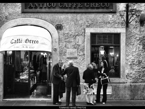 A Greek Coffee House in Rome