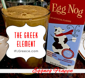Don't Let That Open Carton of Eggnog Go To Waste (A Greek Use For It)