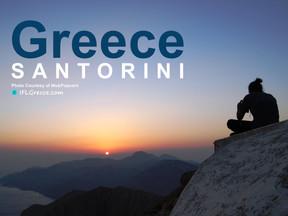 Somewhere in Greece...  Santorini