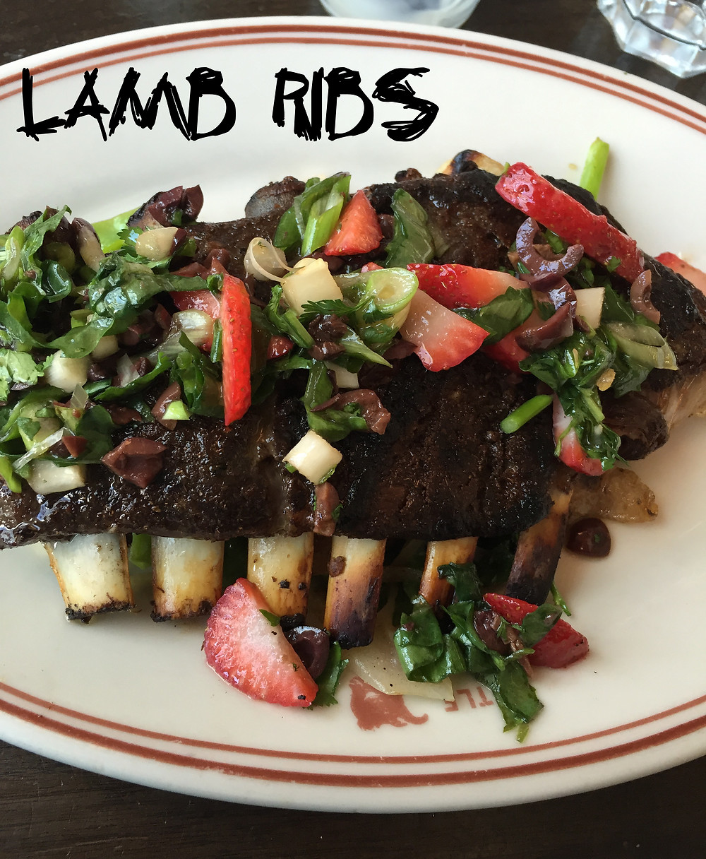 Lamb Ribs from The Little Goat Diner