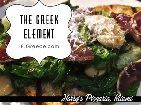 """We Found """"The Greek Element"""" at Harry's Pizza in Miami"""