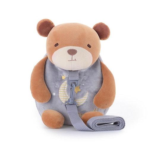 Рюкзачок детский с поводком Brown Bear