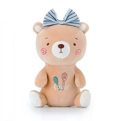 Bow Girl Bear из коллекции Cool Bears 21см