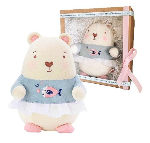 Marshmallow Girl Bear из коллекции Cool Bears 21см
