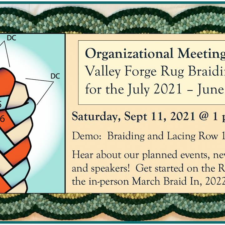 September Organizational Meeting