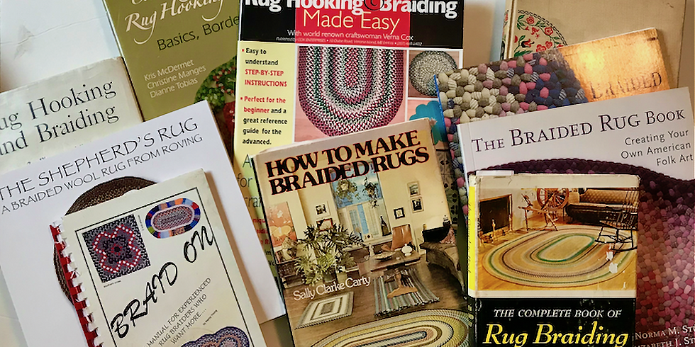 A Review of Rug Braiding Books & Booklets