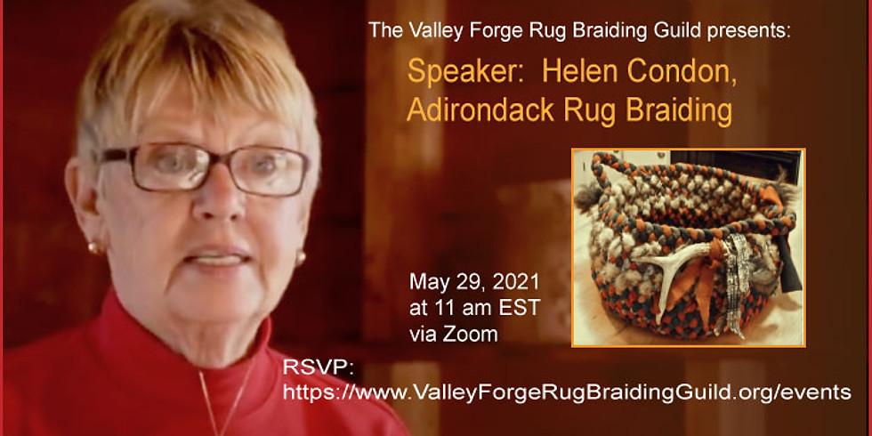 Special Event:  Speaker, Helen Condon