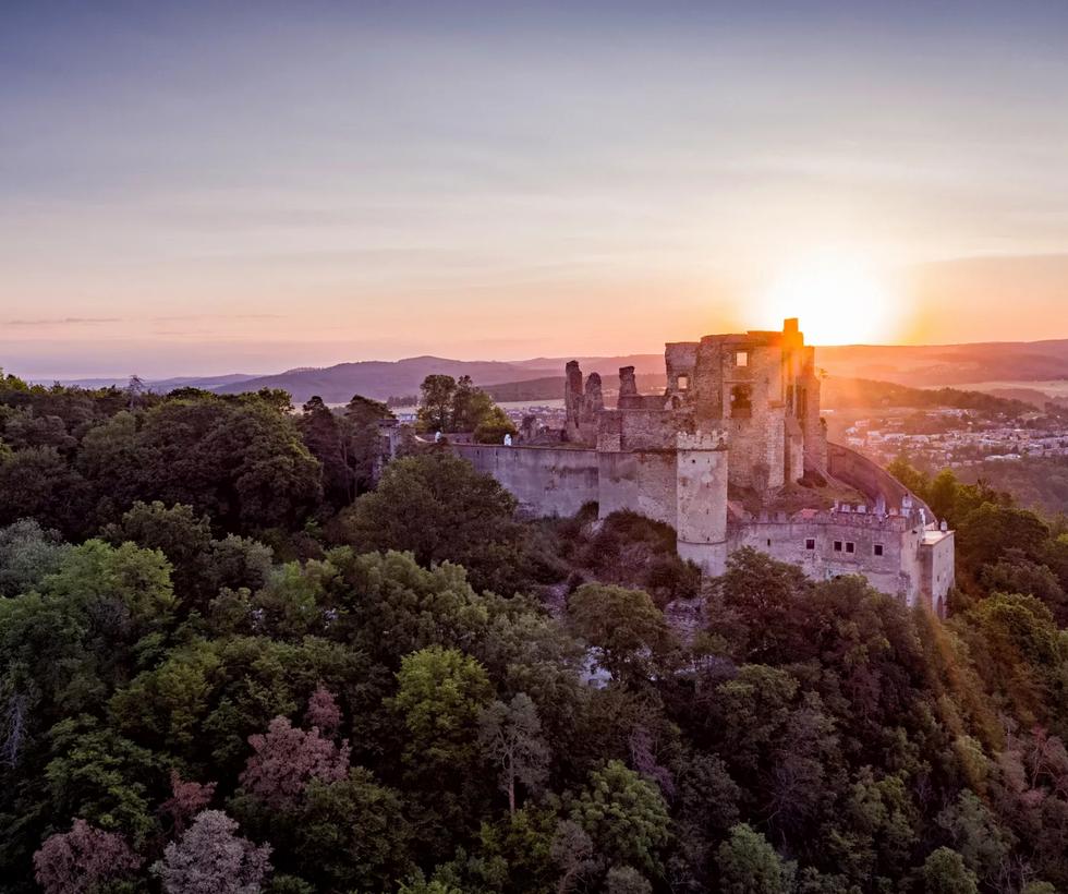 hrad Boskovice - Moravský kras