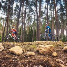Na kole kolem Boskovické přehrady