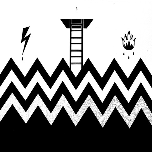 Simple geometric art for tattooing