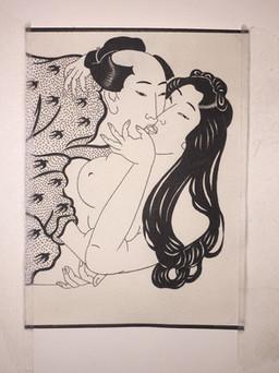 Erotic Japanese Painting