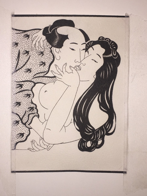 Erotic Japanese Painting