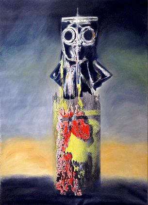 Landscape & Gas Mask