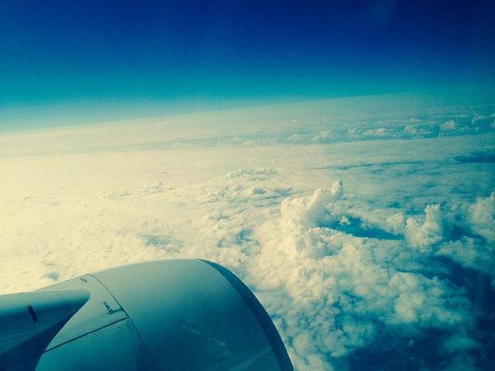 Airplane Window IX