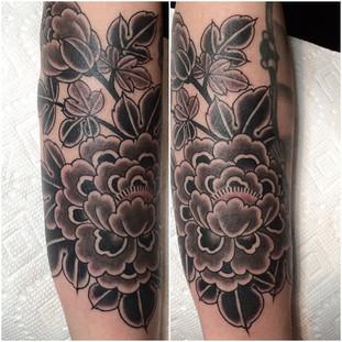 Dark Japanese Flower