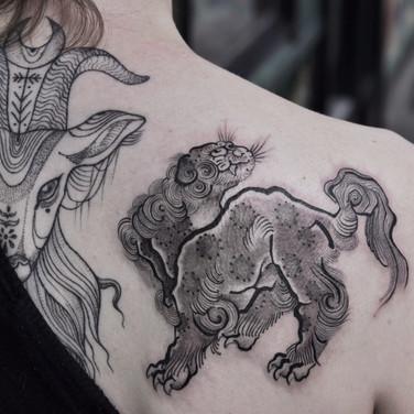 Japanese myth tattoo