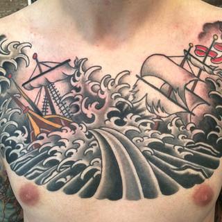 Nautical Chest Piece