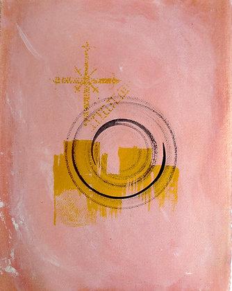 Spiral in Pink