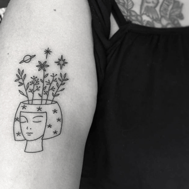 Mujer Tatuajes en Mexico