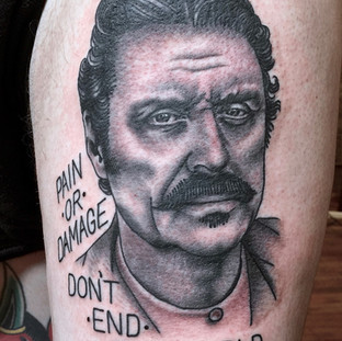 Burt Reynolds Portrait