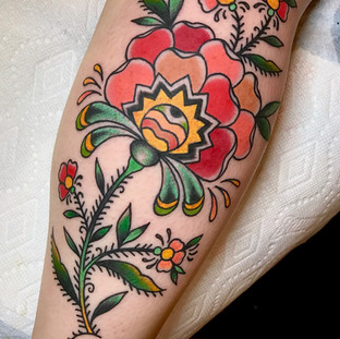 Virginia Elwood Tattoo