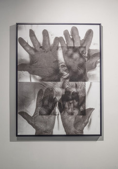Black and Grey Hands