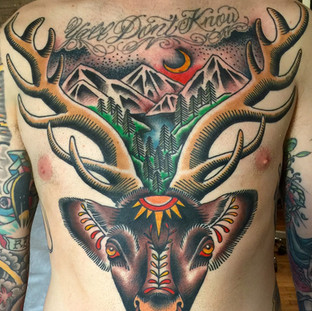 Nature chest piece