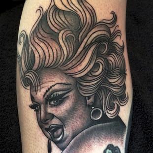 Sublime portrait tattoo