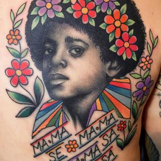Micheal Jackson tattoo