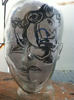Glass Head IX