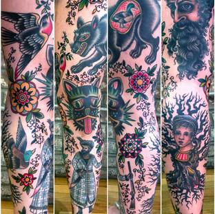 Full Color Leg Sleeve