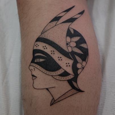 Dietzel Head tattoo