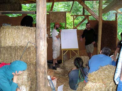 Strawbale Construction Class