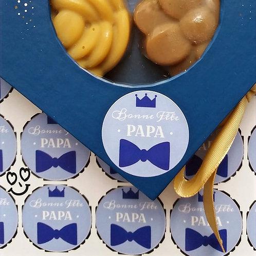 """Petit coffret cadeau """"Bonne fête Papa"""""""