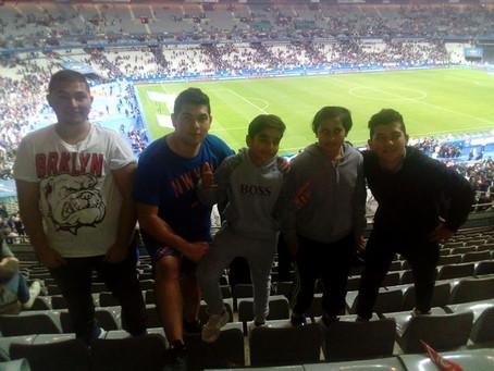 Slavi, 12ans, était au Stade de France.
