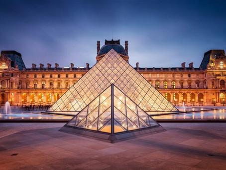 Le Parisien - Onze jeunes d'un camp rom découvrent le Louvre