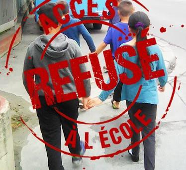 Saint-Ouen: le maire décide que l'école de la République n'est pas faite pour les roms.