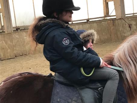 Sortie au Centre Equestre