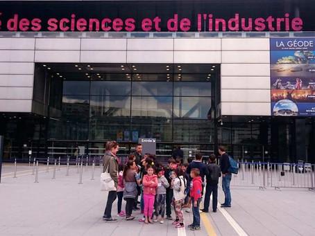 Sortie à la Cité des sciences
