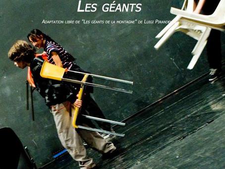 La compagnie Babbaluck et son spectacle Les Géants