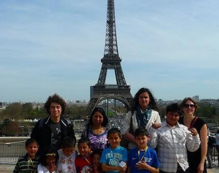Goûter sous la Tour Eiffel